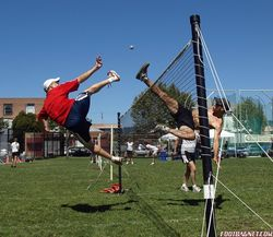 Worlds 2010 Oakland (USA) Air Battle Kenny Shults vs Alexis Deschenes Photo by Emmanuel Bouchard.