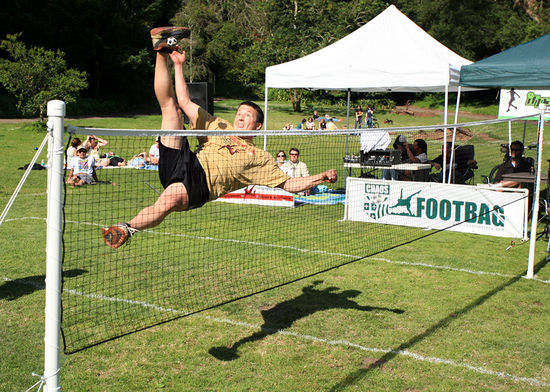 Emmanuel Bouchard 12 times Open Singles Net World Champion 1998-2009 photo at Green Cup 2005 by  Greg Durrett.