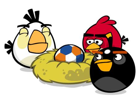 Angry Birds love footbag